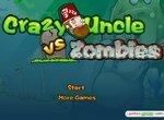 Сумасшедший дядя и растения против зомби
