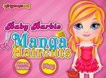 Малышка Барби: Прическа в стиле Манга