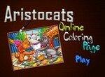 Раскраска с Котами аристократами