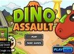 Защита замка от нападения динозавров
