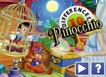 Пиноккио: Найди 10 различий