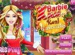Прическа для Барби на Новый год