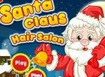 Новый год: Санта в салоне причесок