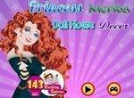 Оформление кукольного домика принцессы Мериды