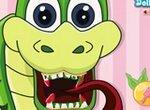 Лечим зубы змейке