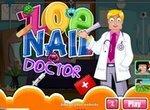 Больница: Доктор лечит пальцы ног