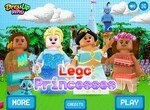 Принцессы Диснея в стиле Лего