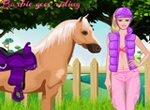 Барби: Прогулка верхом на лошади