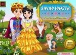 Найди отличия с принцессой Белоснежкой