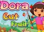 Даша путешественница: Режем фрукты