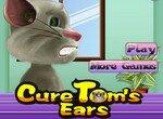 Уход за ушами кота Тома