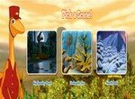 Поезд динозавров: Найди предметы