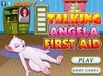 Моя говорящая Анжела: Первая помощь