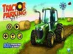 Вождение и парковка трактора с прицепом