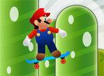 Марио на скейтборде