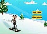 Мистер Бин катается на горных лыжах