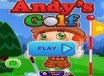 Энди в гольф клубе