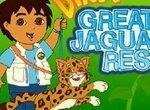 Диего и ягуар в поисках воды