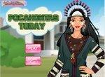 Одевалка: Покахонтас в современном мире