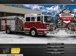 Пожарные машины: Тушим зимние пожары