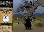 Гарри Поттер уворачивается от Гремучей ивы