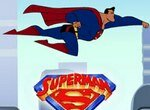 Супермен уничтожает метеориты