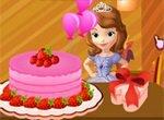 София Прекрасная украшает торт