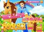Красавица и Чудовище: Белль ухаживает за лошадью