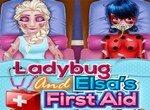 Окажи первую помощь Леди Баг и Эльзе
