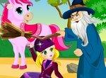 Принцесса Джульетта спасает любимого пони