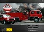 Водитель на пожарном грузовике 2