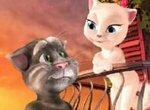 Говорящий кот Том 3 и его подружка Анжела