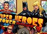 Супергерои защищают крепость