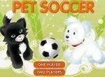 Футбольный матч с домашними животными