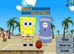Спанч Боб и Полотенчик играют в волейбол