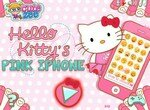 Розовый телефон Хелло Китти