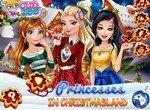 Принцессы Диснея в стране Рождества