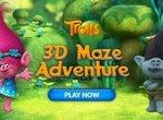 Приключения Троллей в лабиринте 3D