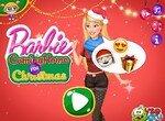 Барби проведет Новый год дома