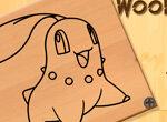 Покемон: Резьба по дереву