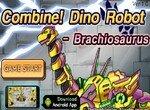 Огромный робот динозавр Брахиозавр