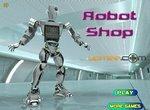 Работа в магазине для роботов
