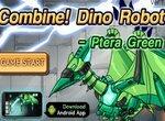 Роботы динозавры: Собери птеродактиля