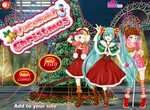 Рождественские аниме образы