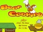 Повар Медвежонок готовит еду