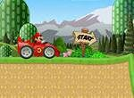 Марио на гоночном автомобиле