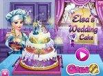 Свадебный торт от принцессы Эльзы