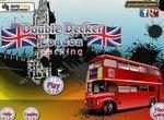 Парковка двухэтажного автобуса в Лондоне