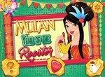 Принцесса Мулан отмечает год Петуха