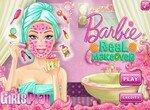 Утренний макияж Барби